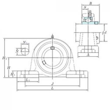 KOYO UCP318 bearing units
