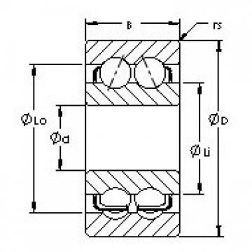 AST 5218 angular contact ball bearings