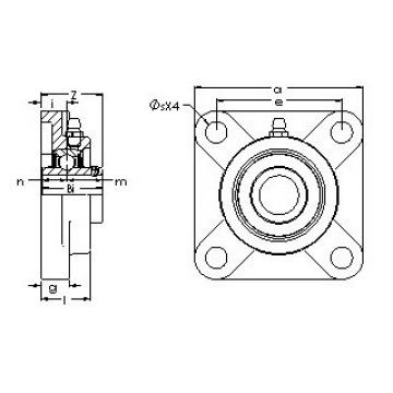 AST UCF 205-16E bearing units