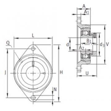 INA PCFT50 bearing units