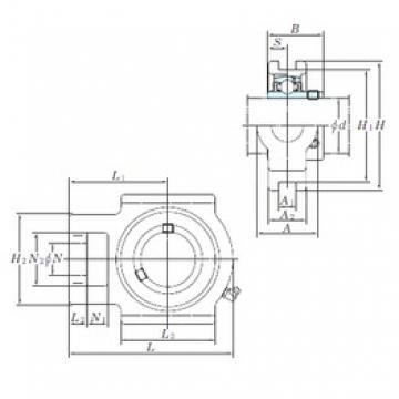 KOYO UCT318 bearing units