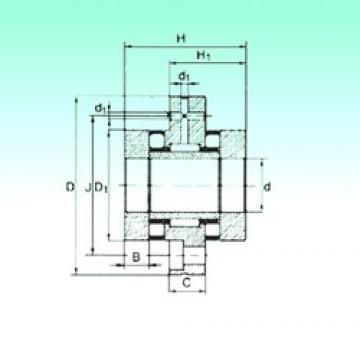 20 mm x 80 mm x 12,5 mm  20 mm x 80 mm x 12,5 mm  NBS ZARF 2080 TN complex bearings