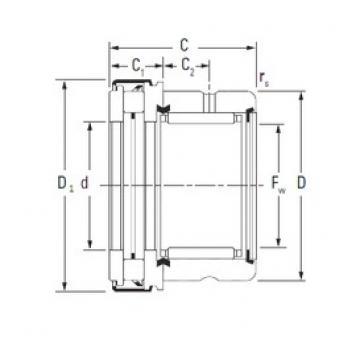 Timken RAXZ 525 complex bearings