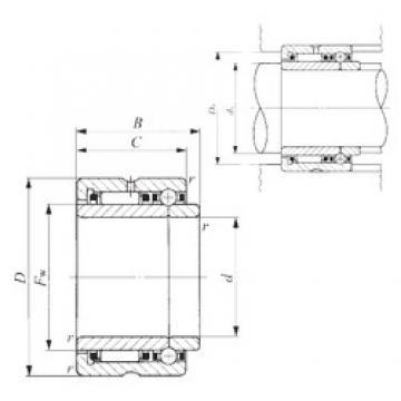 50 mm x 72 mm x 34 mm  50 mm x 72 mm x 34 mm  IKO NATB 5910 complex bearings