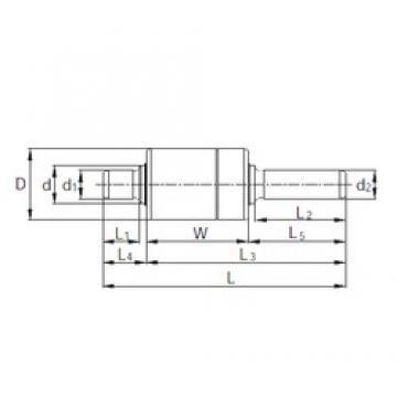 KBC RW306211 complex bearings
