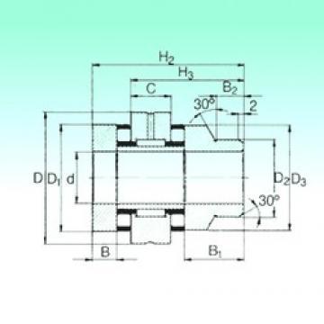 20 mm x 52 mm x 10 mm  20 mm x 52 mm x 10 mm  NBS ZARN 2052 L TN complex bearings