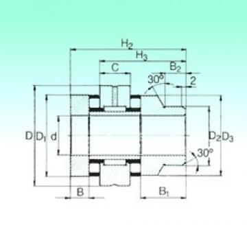 40 mm x 90 mm x 16 mm  40 mm x 90 mm x 16 mm  NBS ZARN 4090 L TN complex bearings