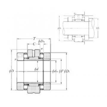 NTN ARN3570T2 complex bearings