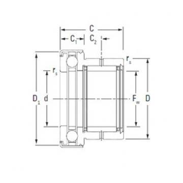 KOYO NAXK20Z complex bearings