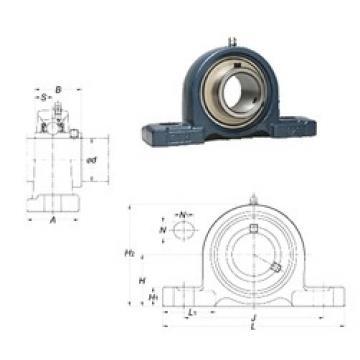 FYH UCP315 bearing units