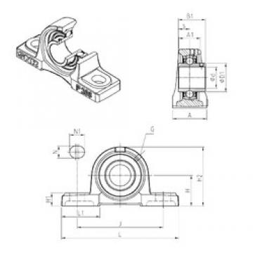 SNR UCP314 bearing units