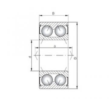 ISO 3302 ZZ angular contact ball bearings