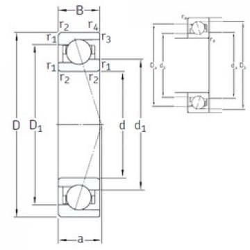 40 mm x 62 mm x 12 mm  40 mm x 62 mm x 12 mm  SNFA VEB 40 /NS 7CE3 angular contact ball bearings