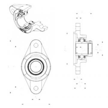 SNR EXFLZ204 bearing units