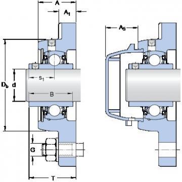 SKF FYWR 1.1/4 AYTHR bearing units