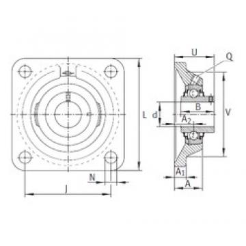 INA RCJY60-N bearing units