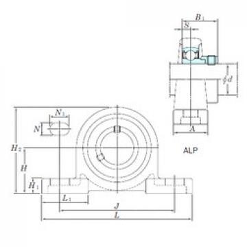 KOYO ALP204-12 bearing units