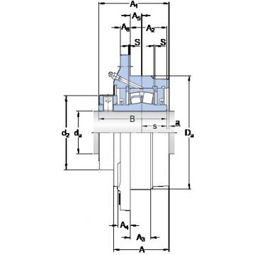SKF FYRP 1 15/16-3 bearing units