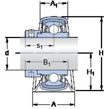 SKF P 52 R-20 WF bearing units