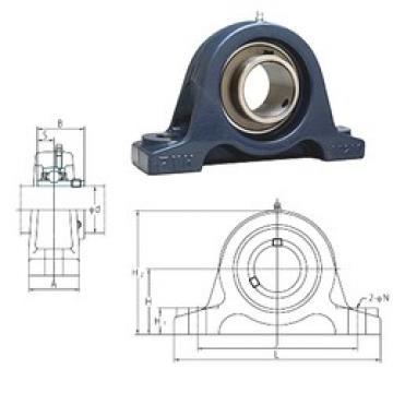 FYH UCIP318 bearing units