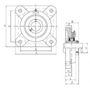 ISO UCF208 bearing units