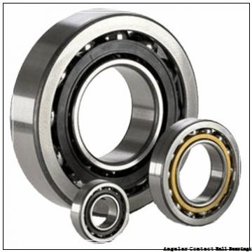 35 mm x 80 mm x 21 mm  35 mm x 80 mm x 21 mm  ISO 7307 B angular contact ball bearings