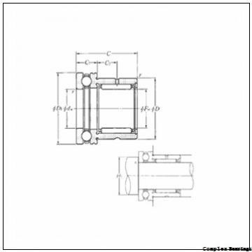 35 mm x 85 mm x 14 mm  35 mm x 85 mm x 14 mm  NBS ZARN 3585 L TN complex bearings
