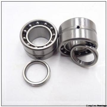 17 mm x 62 mm x 9 mm  17 mm x 62 mm x 9 mm  NBS ZARF 1762 L TN complex bearings