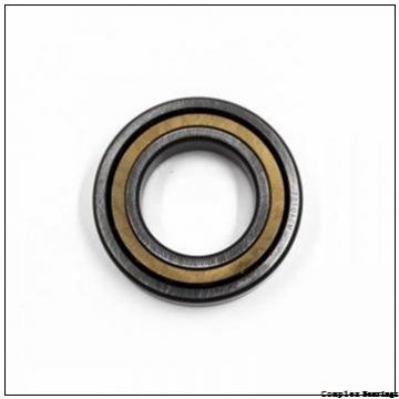25 mm x 57 mm x 10 mm  25 mm x 57 mm x 10 mm  INA ZARN2557-TV complex bearings