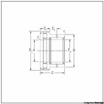 40 mm x 75 mm x 11 mm  40 mm x 75 mm x 11 mm  INA ZARN4075-TV complex bearings