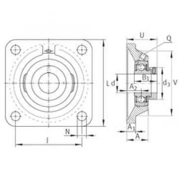 INA PCJ1-1/4-206 bearing units