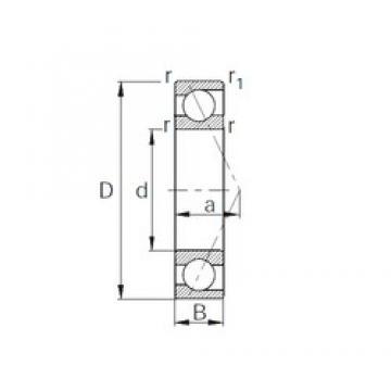 70 mm x 150 mm x 35 mm  70 mm x 150 mm x 35 mm  CYSD 7314 angular contact ball bearings