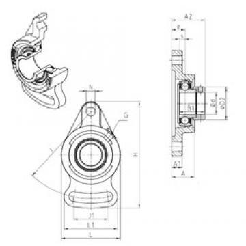 SNR ESFA202 bearing units