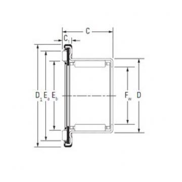 KOYO RAX 712 complex bearings