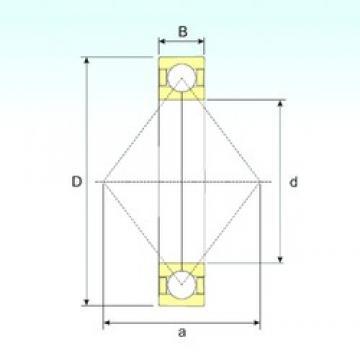 190 mm x 400 mm x 78 mm  190 mm x 400 mm x 78 mm  ISB QJ 338 N2 M angular contact ball bearings