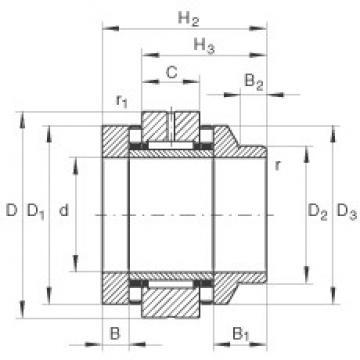 30 mm x 62 mm x 10 mm  30 mm x 62 mm x 10 mm  INA ZARN3062-L-TV complex bearings