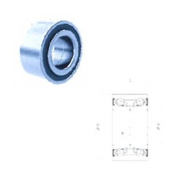39 mm x 68 mm x 37 mm  39 mm x 68 mm x 37 mm  PFI PW39680037CSHD angular contact ball bearings