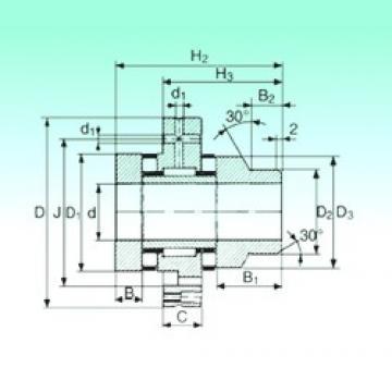 75 mm x 185 mm x 21 mm  75 mm x 185 mm x 21 mm  NBS ZARF 75185 L TN complex bearings