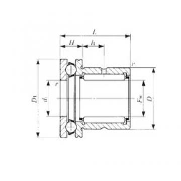 IKO NAX 1023 complex bearings