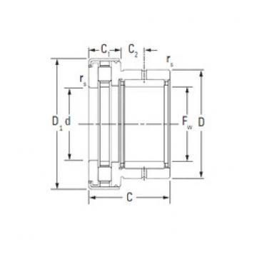 Timken NAXR50.Z complex bearings