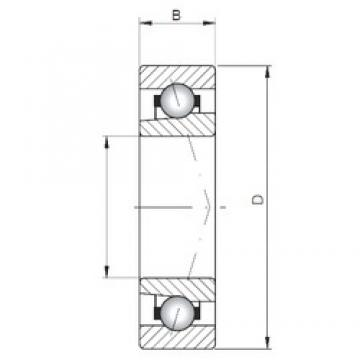 ISO 71902 A angular contact ball bearings