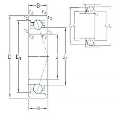 65 mm x 100 mm x 18 mm  65 mm x 100 mm x 18 mm  SNFA VEX 65 /NS 7CE1 angular contact ball bearings