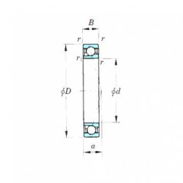 120 mm x 165 mm x 22 mm  120 mm x 165 mm x 22 mm  KOYO 7924CPA angular contact ball bearings
