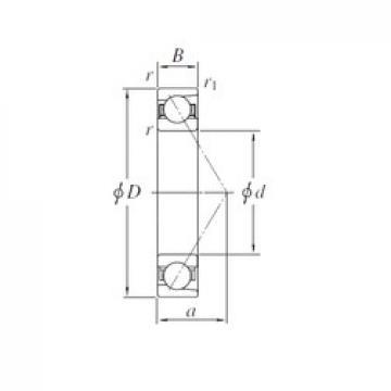 170 mm x 360 mm x 72 mm  170 mm x 360 mm x 72 mm  KOYO 7334 angular contact ball bearings