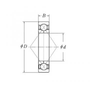 130 mm x 200 mm x 33 mm  130 mm x 200 mm x 33 mm  CYSD QJ1026 angular contact ball bearings